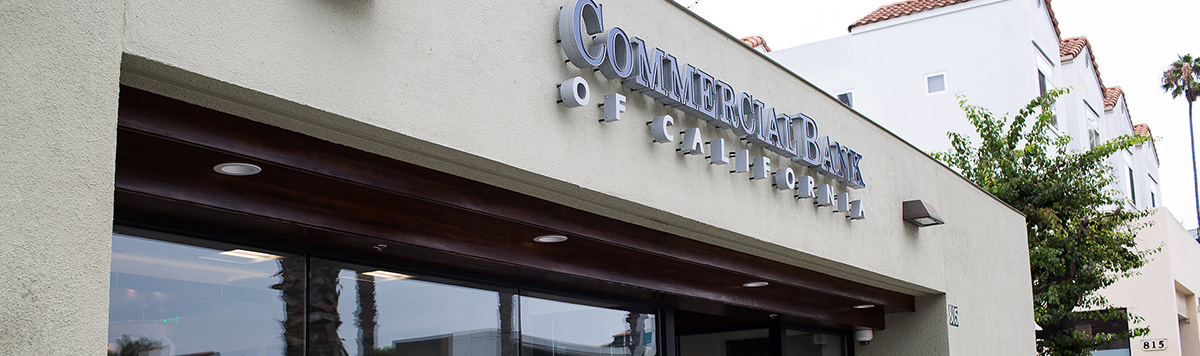 photo of commercial bank of california